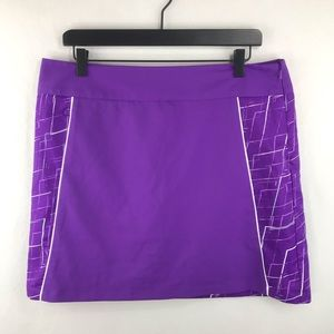 Adidas Climacool 12 Purple Athletic Skort